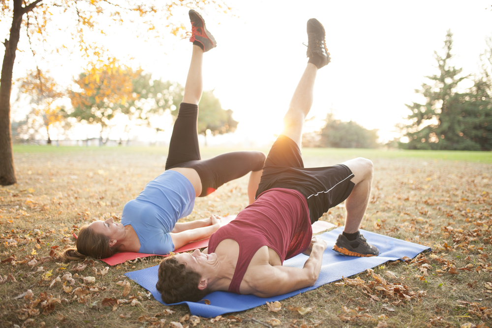 get in shape fall fitness goals